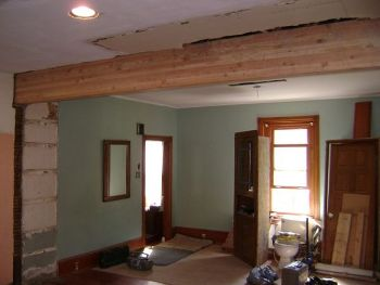 how to build a basic non weight bearing wall